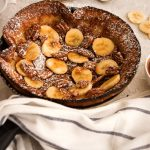 Banana Pecan Dutch Baby