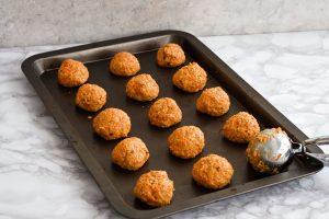 Carrot Cake Oatmeal cookie dough