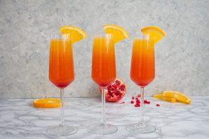 Sunrise Mimosa Cocktail