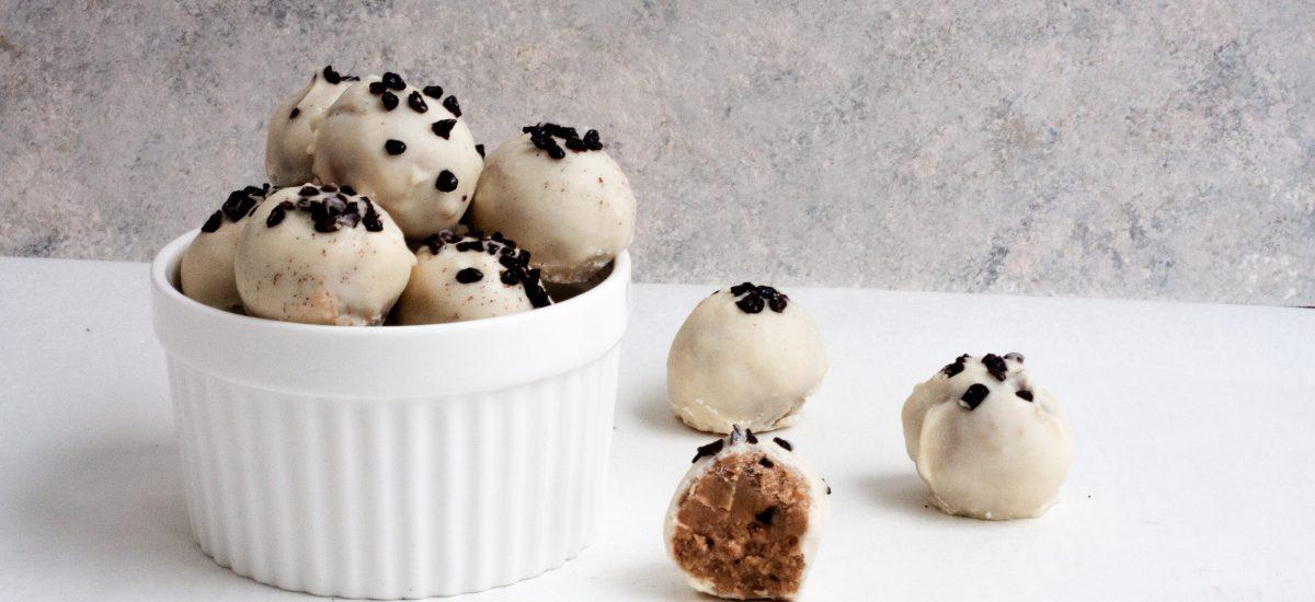 White Chocolate Coffee Truffles